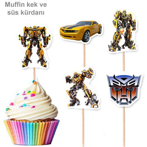 Transformers Şekilli Kürdan (10 Adet), fiyatı