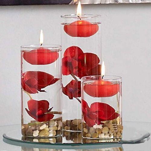 Kırmızı Yüzen Mum 12 Adet, fiyatı