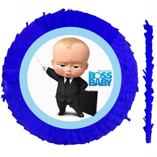 Patron Bebek Pinyata 42 cm + Sopası, fiyatı