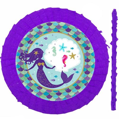 Deniz Kızı Pinyata 42 cm + Sopası, fiyatı
