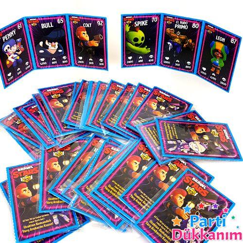 Brawl Stars Oyun Kartları