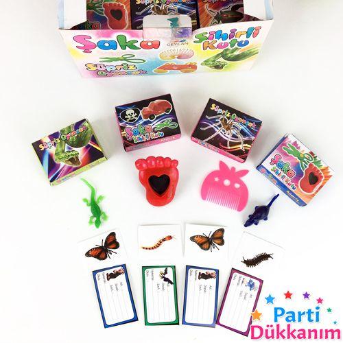 Pinyata İçi Oyuncak Sihirli Kutu 10 Adet, fiyatı