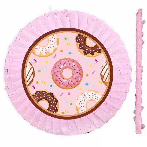 Donut Temalı Pinyata 42 cm + Sopası, fiyatı