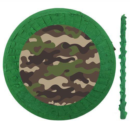 Kamuflaj Asker Temalı Pinyata 42 cm + Sopası, fiyatı