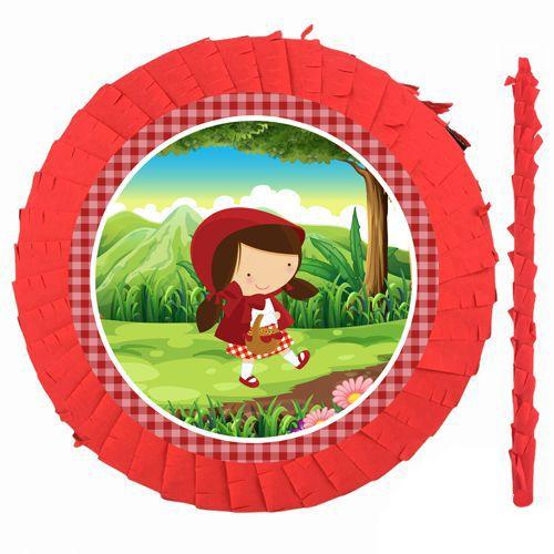 Kırmızı Başlıklı Kız Pinyata 42 cm + Sopası, fiyatı
