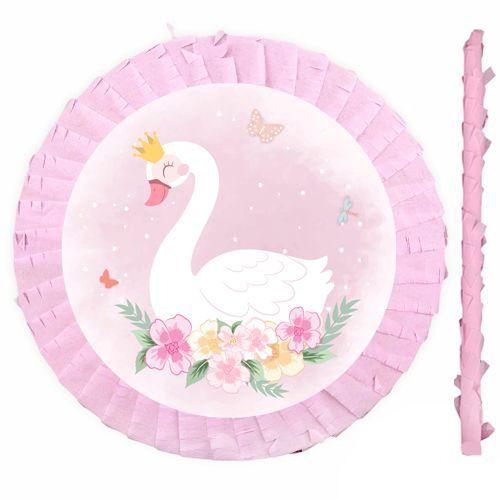 Kuğu Temalı Pinyata 42 cm + Sopası, fiyatı