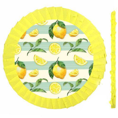 Limon Temalı Pinyata 42 cm + Sopası, fiyatı
