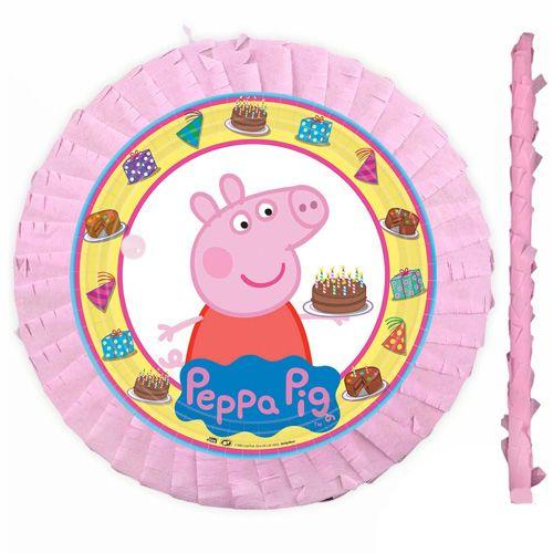 Peppa Pig Pinyata 42 cm + Sopası, fiyatı