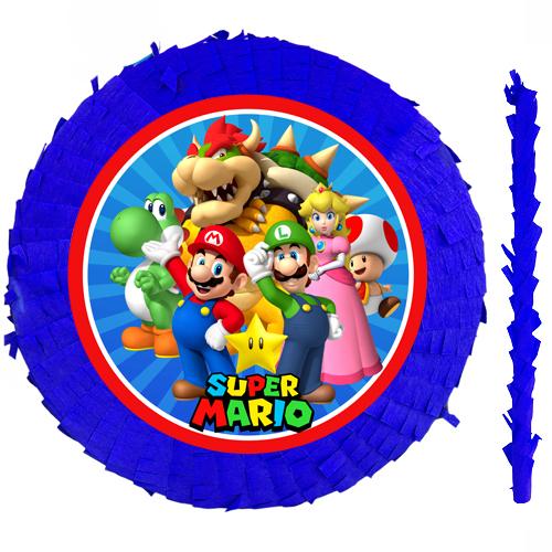 Süper Mario Pinyata 42 cm + Sopası, fiyatı