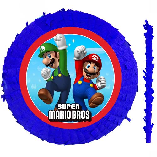 Süper Mario Pinyata Model 2 42 cm + Sopası + Sopası, fiyatı