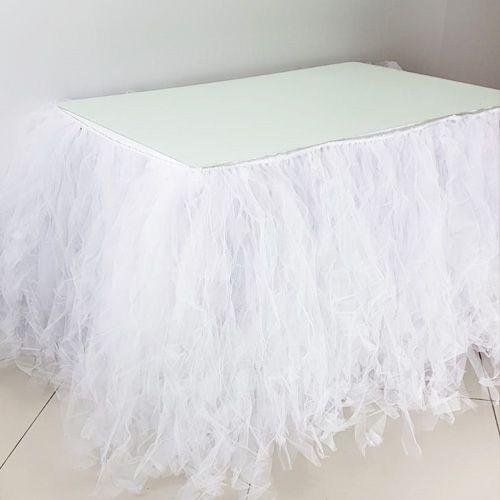 Beyaz Tütü Masa Eteği (350*75 cm), fiyatı