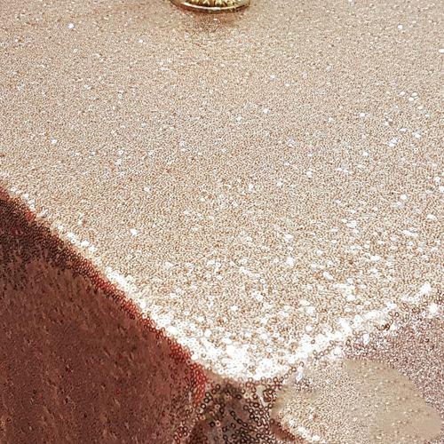 Gold Payetli Masa Örtüsü 125x200 cm, fiyatı