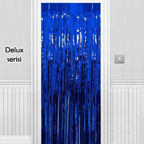 Işıltılı Duvar ve Kapı Perdesi Saks Mavisi 90x200 cm, fiyatı