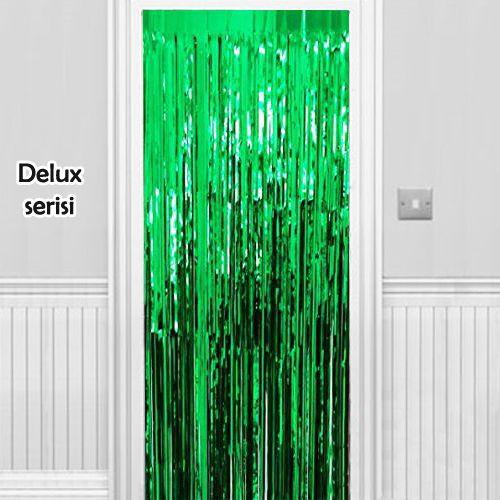 Işıltılı Duvar ve Kapı Perdesi Yeşil 90x200 cm, fiyatı
