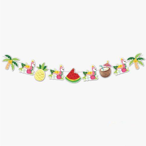Flamingo Ananas Dekoratif Banner (165*20 cm), fiyatı