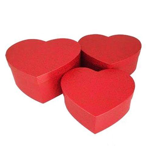 Kırmızı Kalp Hediye Kutusu 3 Boy Seçenekli, fiyatı