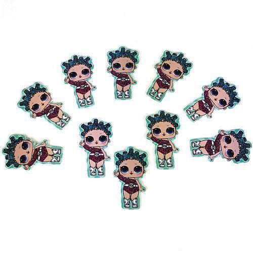 Lol Bebek Cosmic Queen Sticker 10 Adet, fiyatı