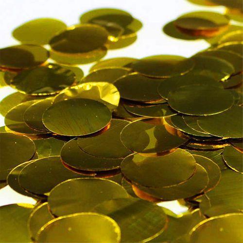 Metalik Balon Konfeti Gold 8 gr, fiyatı