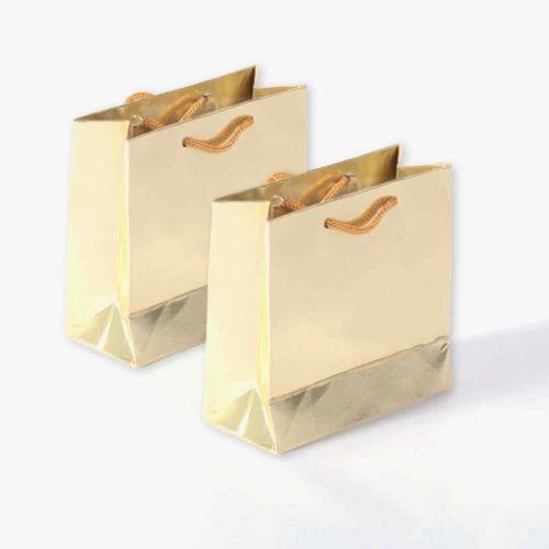 Gold Karton Çanta 50 adet 11x11 cm, fiyatı