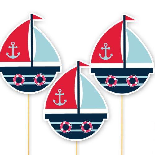 Denizci Temalı Çubuklu Parti Aksesuarı 6 Adet, fiyatı