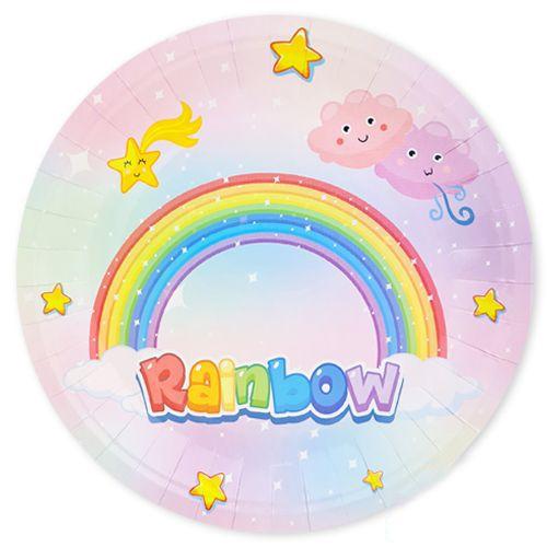 Gökkuşağı Rainbow Tabak 8 adet, fiyatı