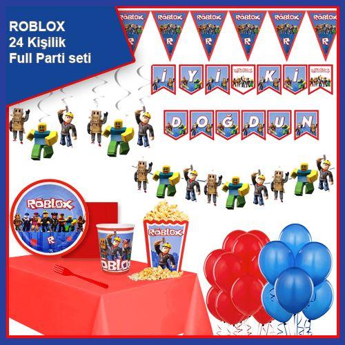 Roblox 24 Kişilik Parti Seti, fiyatı