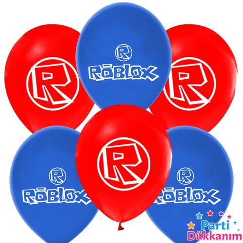 roblox baskılı balon