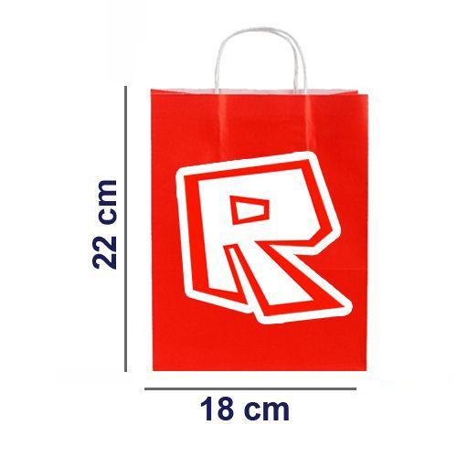 Roblox Kağıt Hediye Çantası 6 adet 18x22, fiyatı