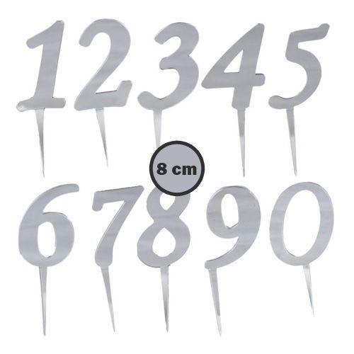 A-dan Z-ye Pleksi Harf/Rakam Gümüş 8 cm, fiyatı