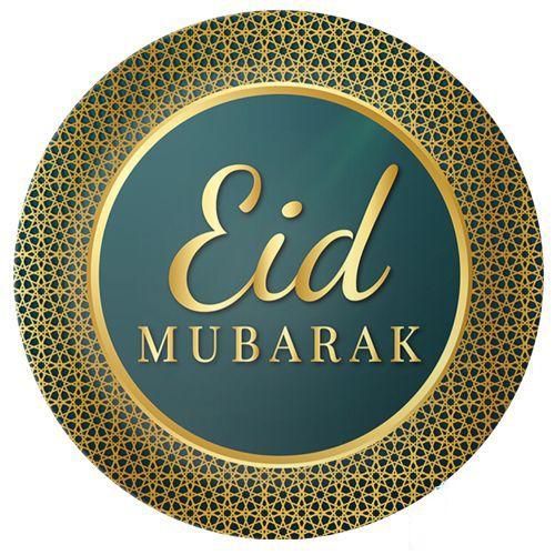 Eid Mubarak Tabak 8 Adet, fiyatı