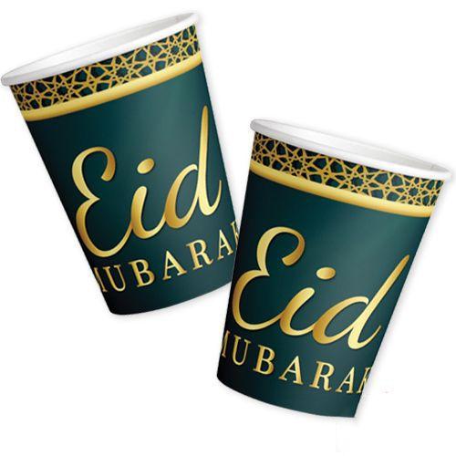 Eid Mubarak Bardak 8 Adet, fiyatı