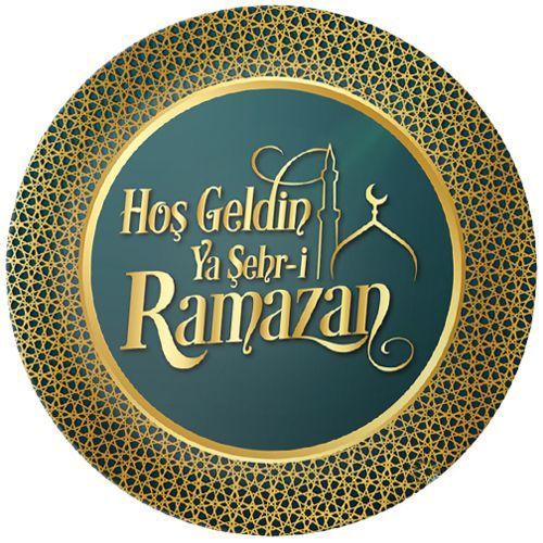 Hoş Geldin Ramazan Tabak 8 Adet, fiyatı