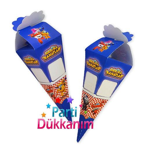 Harika Kanatlar Şeker, Lokum Külahı (50 adet), fiyatı