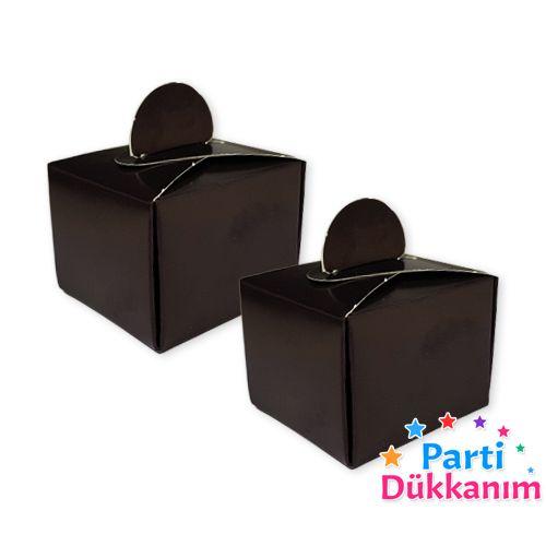 Siyah Lokum Kutusu (50 adet), fiyatı