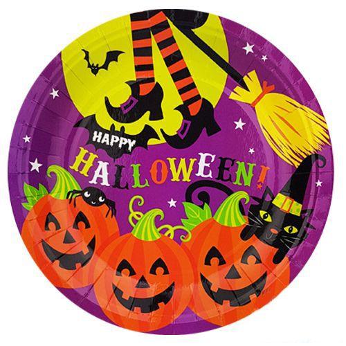 Halloween Cadılar Bayramı Tabak (8 Adet), fiyatı