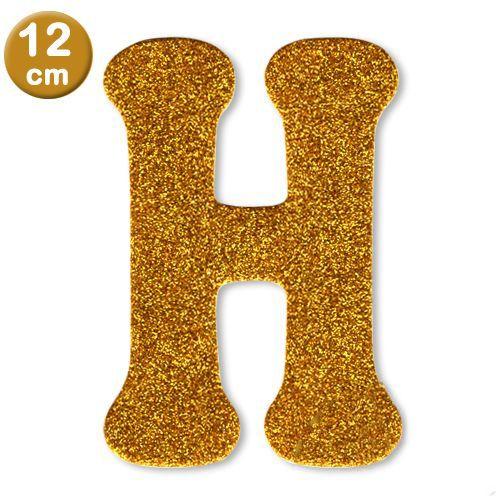 H - Harf Eva Simli Gold (12 cm), fiyatı