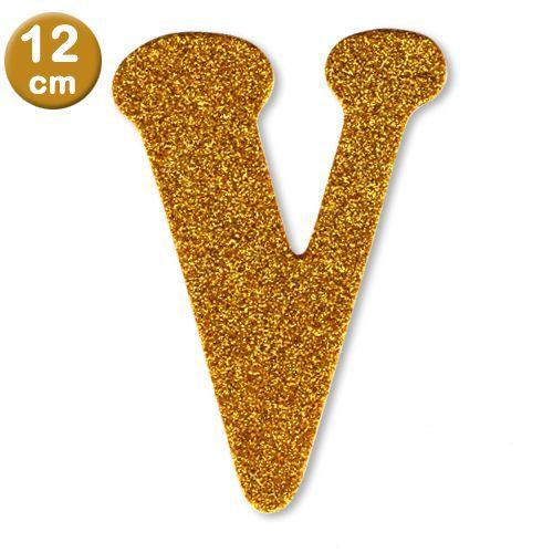 V - Harf Eva Simli Gold (12 cm), fiyatı
