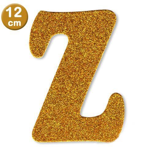 Z - Harf Eva Simli Gold (12 cm)