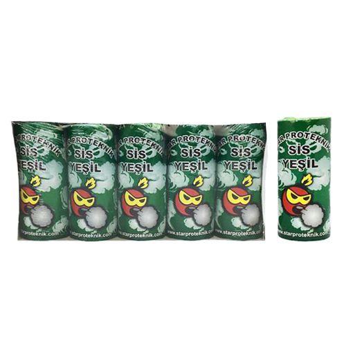 Yeşil Renkli Sis Bombası 4 Adet, fiyatı