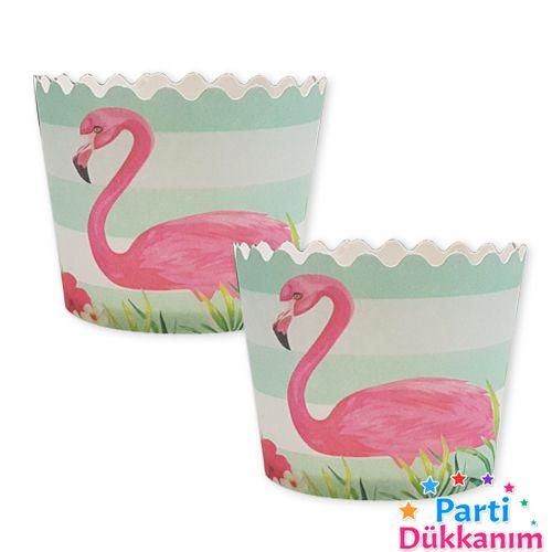 Flamingo Cupcake Kabı 25 adet, fiyatı