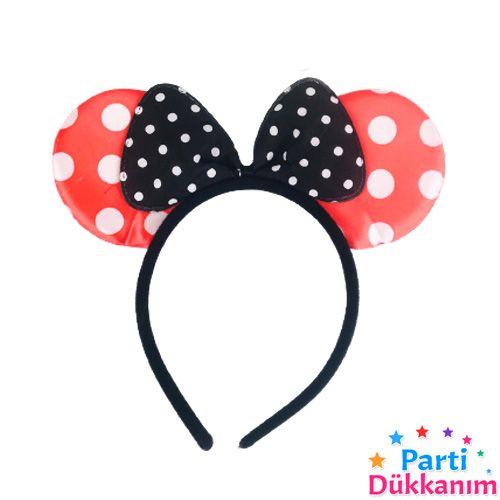 Minnie Mouse Tacı Kırmızı, fiyatı