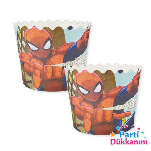 Spiderman Cupcake Kabı (25 adet), fiyatı