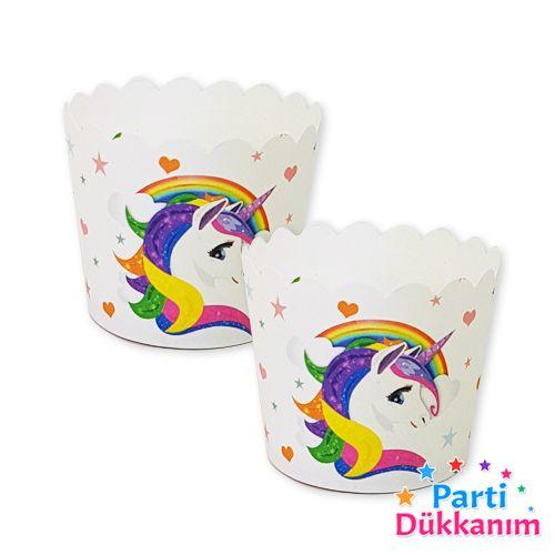 Unicorn Cupcake Kabı (25 adet), fiyatı