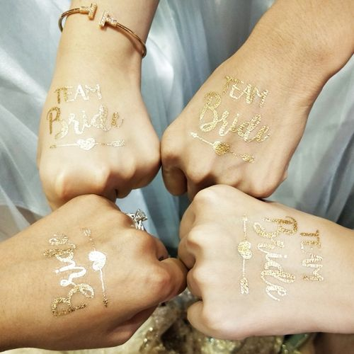 Bekarlığa Veda Team Bride Geçici Dövme 12 Adet, fiyatı