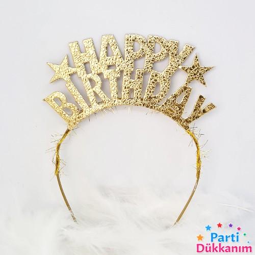 Happy Birthday Gold Taç, fiyatı