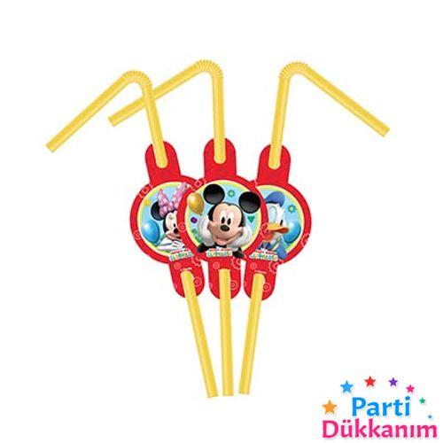 Mickey Mouse Körüklü Pipet (10 Adet), fiyatı