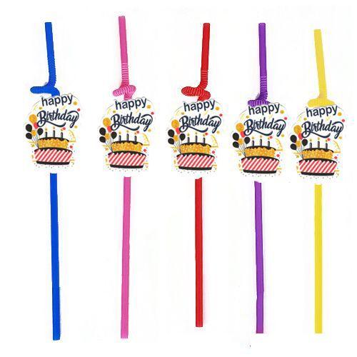 Happy Birthday Artistik Pipet 10 Adet, fiyatı
