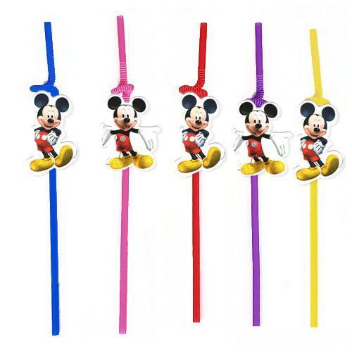 Mickey Mouse Artistik Pipet 10 Adet, fiyatı
