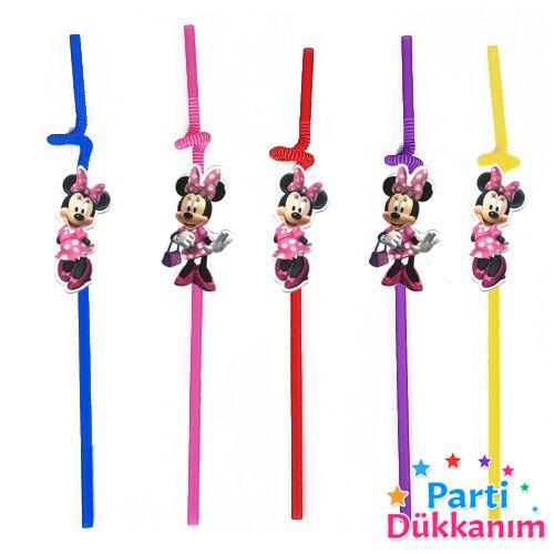 Minnie Mouse Artistik Pipet 10 Adet, fiyatı