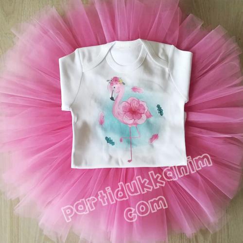 Flamingo Tütü Etek Takım, fiyatı